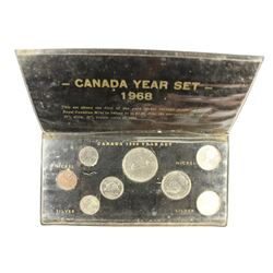 1968 CANADA YEAR SET AS SHOWN