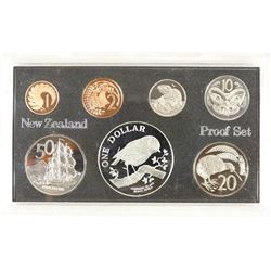 1984 NEW ZEALAND 7 COIN PROOF SET NO BOX
