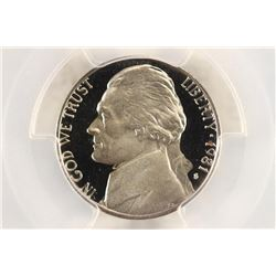 1981-S TYPE I JEFFERSON NICKEL PCGS PR69 DCAM