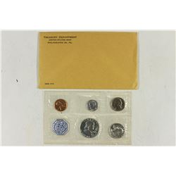 1963 US SILVER PROOF SET (WITH ENVELOPE)