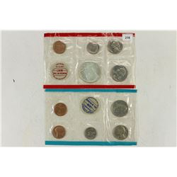 1969 US MINT SET (UNC) P/D/S (WITH NO ENVELOPE)