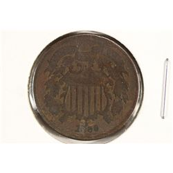 1868 US TWO CENT PIECE