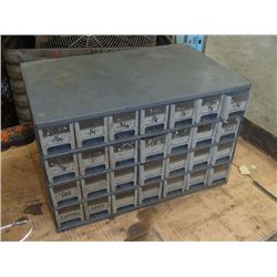 "Acheson 28 Drawer Tool Organizer, Overall: 17"" x 11"" x 10.5"""