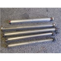 Misc Pneumatic Cylinders, 5 Total