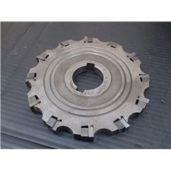 Carboloy Futurmill 6  x 1/2  Indexable Slot Milling Cutter, P/N: ASL-0612-5