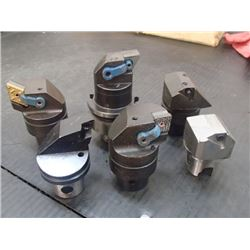 Misc Indexable Boring Heads, 6 Total