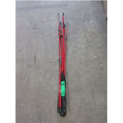3 New Aqua Strike Graphite Fishing Rods