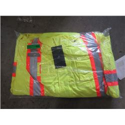 New Armor Wise 5XL Lime Safety Jacket