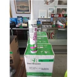 6 Cases Of 12 Den Braven White Caulking