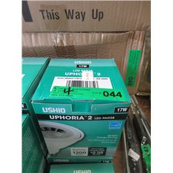 4 New Uphoria 2 LED Par 38 17 W Flood Lights