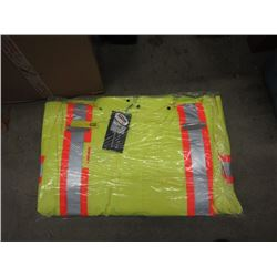 Armor Wise 5XL Lime Safety Jackets