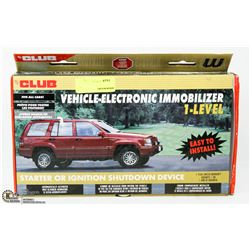 THE CLUB VEHICLE ELECTRONIC IMMOBILIZER LEVEL 1