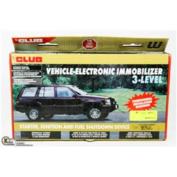 THE CLUB VEHICLE ELECTRONIC IMMOBILIZER LEVEL 3