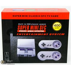 NEW SUPER MINI CLASSIC WITH 400 BUILT IN GAMES