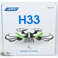 NEW H33 2.4GHZ 6 AXIS GYRO WITH RETURN TO HOME