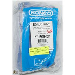 BUNDLE OF RONCO GRIP IT CRINKLE LATEX COATED