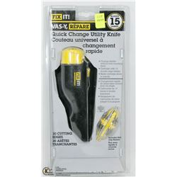 FIX IT QUICK CHANGE UTILITY KNIFE