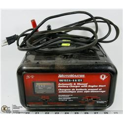MOTOMASTER AUTOMATIC BATTERY CHARGER WITH
