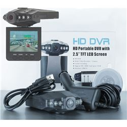 "NEW HD PORTABLE DVR WITH 2.5"" TFT SCREEN"