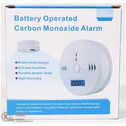 NEW CARBON MONOXIDE ALARM