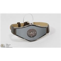 ROCKY BROWN TONE/MIRRORED FASHION WATCH WITH
