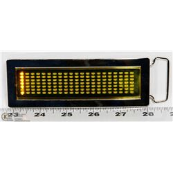 NEW PROGRAMMABLE YELLOW LED MINI MESSAGE BOARD/