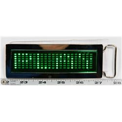 NEW PROGRAMMABLE GREEN LED MINI MESSAGE BOARD/
