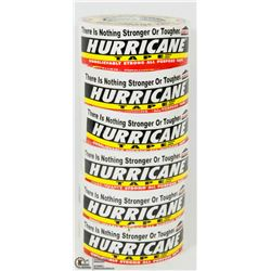 6 ROLLS OF HURRICANE TAPE