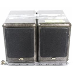 SET OF 2 JVC DESKTOP SPEAKERS