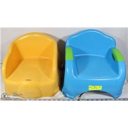 PAIR OF BOOSTER SEATS