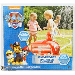 PAW PATROL FIRE ENGINE SHAPED SPRINKLER