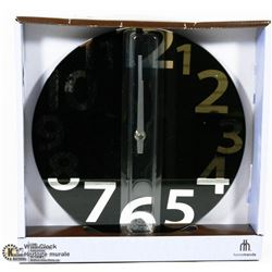 HOMETRENDS WALL CLOCK DIAMETER 25.4CM