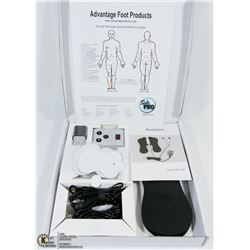 NEW TENS EMS MACHINE MUSCLE STIMULUS WITH LITHIUM