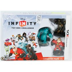 DISNEY INFINITY TOY BOX CHALLENGE NINTENDO 3DS