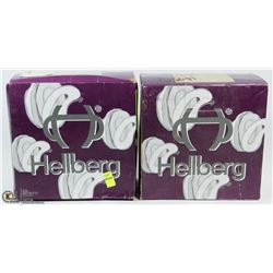 2 BOXES OF HELLBERG EARMUFF ADHESIVE STICKERS