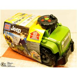 NEW MEGA BLOKS 3 IN 1 JEEP