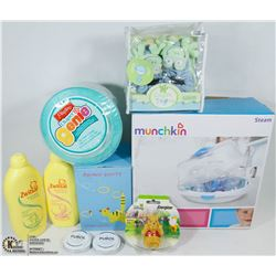 NEW BABY ITEMS MUNCHKIN STEAM