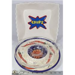 3PC LARGE PLATTER FOR CHIPS/DIPS