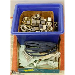 CASE OF 8MM HEAVY DUTY BOLTS, STAINLESS STEEL
