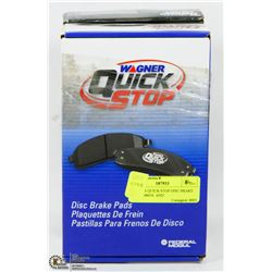 WAGNER QUICK STOP DISC BRAKE PADS ZD465A  AND