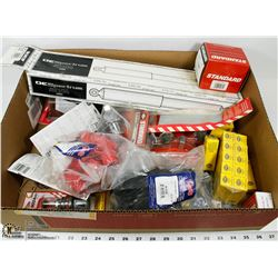 LARGE FLAT WITH NEW AUTOMOTIVE PARTS INCL