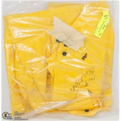 YELLOW MEDIUM RAINSUIT