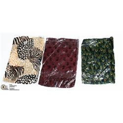 PACK OF 3 FASHION SCARVES