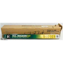 "CASE OF 10 -18"" A/S ALL SEASON WIPER BLADES"