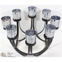 CANDELABRA WITH CANDLE HOLDERS.