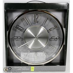 HOMETRENDS TRANSPARENT WALL CLOCK