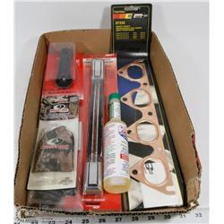 FLAT OF NEW VEHICLE  PARTS & ACCESSORIES