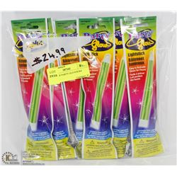 15 PACK OF PARTY GLO-STICKS