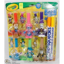 CRAYOLA PIP SQUEAKS MARKERS IN DISGUISE SET