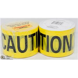 2 ROLLS OF CONDOR BARRICADE TAPE